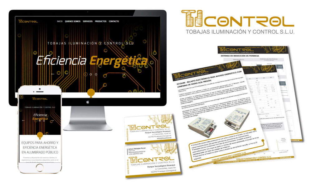 TI Control iluminación Zaragoza