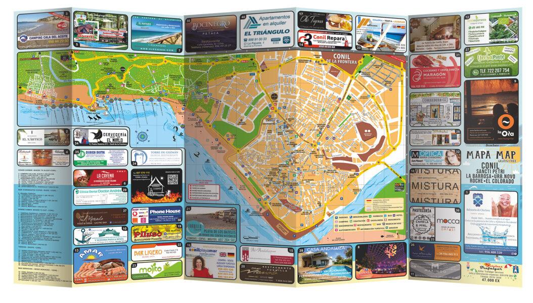 Mapa Publicitario Plano Callejero
